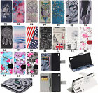 Various Patterns Flip Wallet Leather Case Cover Stand For Sony Xperia M4 Aqua