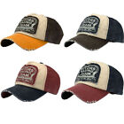 Men Women Vintage Snapback Baseball Ball Cap Outdoor Sports Hats Adjustable UK