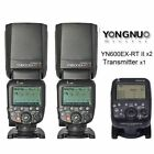Yongnuo YN600EX-RT II Speedlite Flash Light & YN-E3-RT Transmitter for Canon US