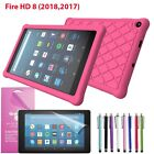 Full body Cover Case For 2017 Amazon Fire 7/ HD 8/ HD 10 With Screen Protector