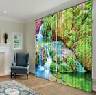 3D Green River 34 Blockout Photo Curtain Printing Curtains Drapes Fabric Window