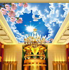 3D Sky and Clouds Ceiling WallPaper Murals Wall Print Decal Deco AJ WALLPAPER