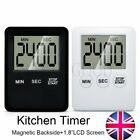 LCD Display Magnetic Digital Count Down Up Kitchen Egg Cooking Beep Alarm Timer