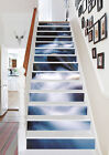 3D White stream 89 Stair Risers Decoration Photo Mural Vinyl Decal Wallpaper AU