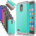 For LG Stylo 3 /Stylo 3 Plus LS777 Phone Cover Rugged Impact Rubber Hard Case
