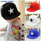 Baby Kids Boy Girl Star Adjustable Baseball Cap Snapback Sun Visor Hip-hop Hats