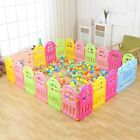 Hot Baby Playpen Toddler Safety Playing Activity Play Center Home Fence Pen Yard