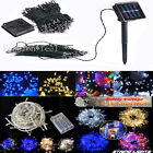 Solar/Battery/UK Adapter String Lights Fairy Garden Wedding Holiday Xmas Tree