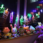 20x LED Photo Clips String Lights Battery Operated Home Party Fairy Decor Dazzli