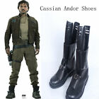 Rogue One:A Star Wars Story Cosplay Costume Cassian Andor Cosplay Shoes Boots $50.99 USD