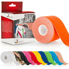 Proworks 5m Kinesiology Tape | Sports Physio Knee Shoulder Body Muscle Support <br/> Water Resistant &brvbar; Latex Free &brvbar; 5cm x 5m Roll