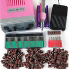 Electric Manicure Machine Nail Art Equipment Manicure Pedicure Files 30 DrilBits