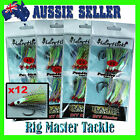 Fishing DIY Hairy Hooks Snapper Flasher Candy Apple 4/0 5/0 6/0 or 8/0 12-pack