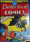 Detective Comics #27  Regular Size Copy 1st Batman comic book