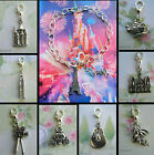 DISNEYLAND PARIS THEMED CLIP ON CHARM FOR BRACELET CASTLE CAMERA CROWN PUMPKIN