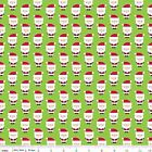 Santa Express 100% Cotton Flannel Christmas Fabric by Riley Blake FQ