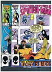 PETER PARKER SPECTACUAR SPIDER-MAN V.1 123-124 BLK CAT FREE OR COMBINED SHIPPING