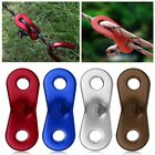 10pcs Wind Rope Aluminum Alloy Buckle Outdoor Tent Stopper Chord Adjust Buckle