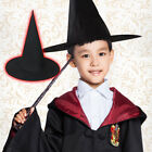 Halloween Fancy Dress Witch Hat Halloween Party Costume Prop Black Witches Hats