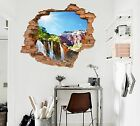 3D Waterfalls 026 Wall Murals Wall Stickers Decal Breakthrough AJ WALLPAPER AU
