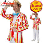 CA347 Mens Jolly Holiday Bert Gentleman Victorian Mary Poppins Fancy Costume