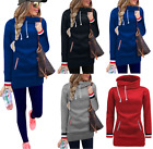 New Womens Winter Turtleneck Sweatshirt Jacket Jumper Pullover Sweater Coat