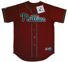 Philadelphia Phillies MLB Majestic Fashion Replica Jersey Adult Size Large & XL