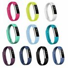 Silicon Bracelet Strap Replacement Band for Fitbit Alta HR & Alta Smart Fitness