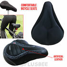 EXTRA WIDE COMFY BUM BIKES BICYCLE GEL CRUISER COMFORT CUSHION SADDLE SEAT COVER