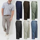 New Mens Cargo Trousers Multi Pocket BHS Ex Store Combat Pants 100% Cotton 32-46