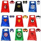 Lot mixed cape & mask children Halloween Super statt Cape for cosplay party G745