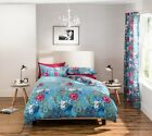 Garden Floral Duvet Quilt Cover Set Bedding, Bed Linen By Catherine Lansfield