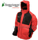 FROGG TOGGS RAIN GEAR MENS-FIREBELLY NT6201-110 RED/BLACK TOADZ JACKET FISHING