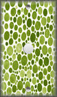 Light Switch Plate Cover - Shades Of Lime Green Polka Dots - Modern Home Decor