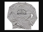 Men's Triumph Motorcycles Long Sleeve T shirt Custom Henley