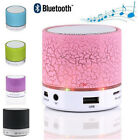 LED Light Wireless Portable Speakers Subwoofer Tweeter Audio Notebook Computer