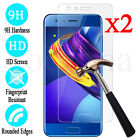 2x 9H Premium Tempered Glass Screen Protector Cover Film For Huawei Honor 8 Lite
