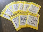 VINTAGE AUNT MARTHA'S HOT IRON TRANSFERS (CHOOSE FROM A VARIETY OF PATTERNS)