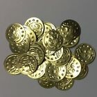 100/200 Silver/Gold Real Brass Coins Belly Dance Costume Hip Scarf Belt' Coins
