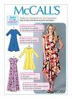 McCalls SEWING PATTERN M7382 Misses Dresses Learn To Sew For Fun XS-M Or L-XXL