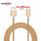 Nylon Braided Magnetic USB Fast Charger Cable For Apple iPhone 7 6 6s plus 5s SE