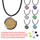 Relaxation Fragrance Essential Oil Necklace+7 Colored Felt Pads as Birthday Gift