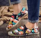 Hot Mens Fashion Casual Loafers Pumps Flats Boys Round Toe Cartoon Pattern Shoes