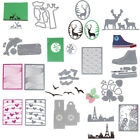 Metal Cutting Dies Stencil Scrapbook Embossing Christmas Xmas Card DIY Handmade