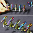 Peacock Holographic Chameleon Nail Glitter Powder Chrome Pigment DIY BORN PRETTY