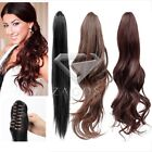 45/50/55cm Synthetic Fiber Straight Curly Hairpiece Pony Tail Hair Extension SF