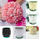 10M  FAUX PEARL BEAD STRING GARLAND WEDDING TABLE PARTY DECORATION CELEBRATION