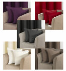 Manhattan Cushion Cover Available Plain Aubergine, Cream, Mocha, Pewter and Red