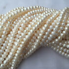 choose colors Jewelry making 1Strand Natural Freshwater Pearl round Beads 6-10mm