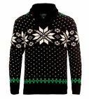 Polo Ralph Lauren Mens Cashmere Angora Knit Slim Snowflake Shawl Collar Sweater